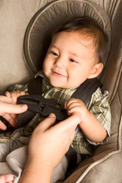 Car seat safety provided by PAMPA Pediatrics in north Atlanta